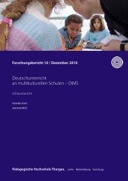 PHTG FB Nr. 10 DIMS.pdf - Pädagogische Hochschule Thurgau
