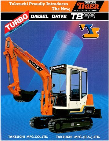 40 free Magazines from TAKEUCHI US COM
