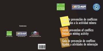 linked to mining activity - Alianza por la Minería Responsable