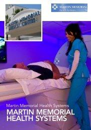 Martin MeMorial HealtH SySteMS - Business Review USA