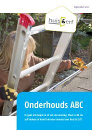 Onderhouds ABC - Huis en Erf