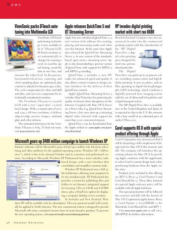 QuarkXPress 5 or InDesign 2? - Graphic Exchange magazine