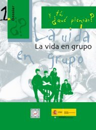 qué piensas? - 1 La vida en grupo (documento PDF)