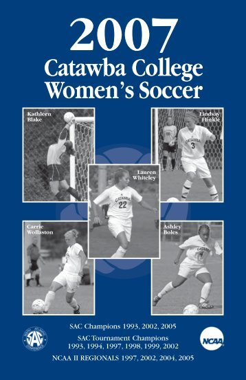WOMEN'S SOCCER FALL 03