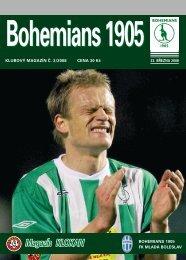 Číslo 3/2008 B1905 - Bohemians 1905