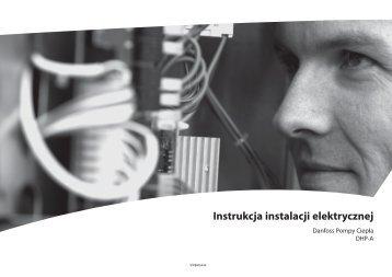 Instrukcja instalacji elektrycznej DHP-A (Opti line) - Danfoss