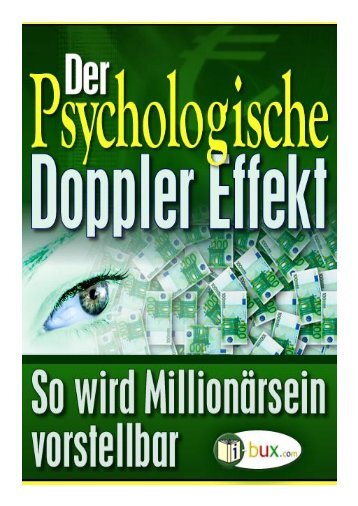 Der psychologische Dopplereffekt - I-Bux.Com