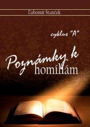 Poznámky k homíliám - cyklus - Evanjelizacia
