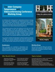 to Download the Overview in PDF - Telepresence Options