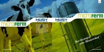 Bio-Energie vom Bauernhof - HoSt