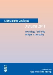 Rights Catalogue - Verlag Herder