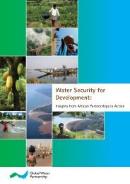 Water Security for Development: Insights from African Partnerships