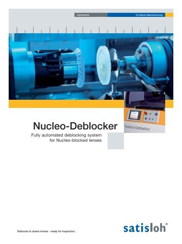 Nucleo-Deblocker - Satisloh