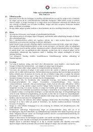 Salg og leveringsbetingelser - Flex-Trim A/S