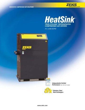 HeatSink - ZEKS Compressed Air Solutions