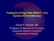 Treatment Of High Risk NSGCT