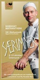 programmet - Ny Nordisk Mat