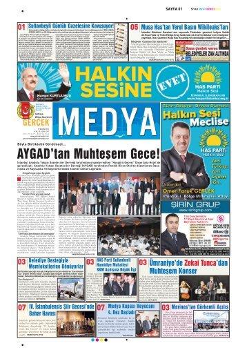 AYGAD'tan Muhteşem Gece! - gerçek medya gazetesi
