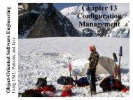 Chapter 13 Configuration Management