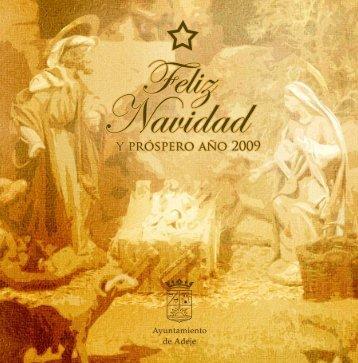Programa Actos Navidad Adeje 2008-09