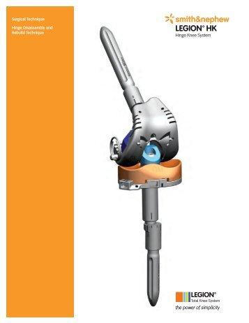 LEGION HK Dis and Re-Assembly Tech.pdf - Bonerepmedical.com
