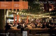 LEASING OPPORtUNItIES - Santana Row