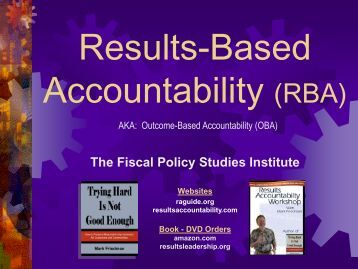Presentation Results-Based Accountability - nwe-annualevent2012