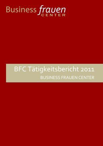 BFC Tätigkeitsbericht 2011 - Business frauen Center Kärnten