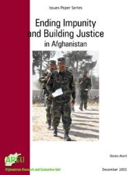 Ending Impunity and Building Justice in Afghanistan 2003.pdf