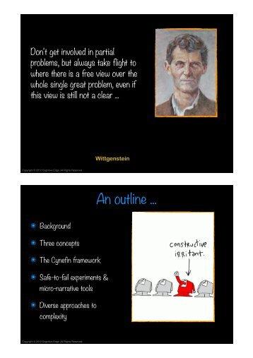P View Part 1 - Cognitive Edge