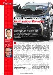 Der Kommerzialrat und seine Wracks Der ... - AUTO und Wirtschaft