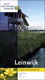 Leinwijk - Stichting Het Groninger Landschap