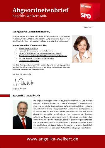als PDF-Datei herunterladen - Angelika Weikert, MdL