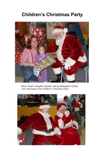 Children's Christmas Party - Branch 322 - Ajax