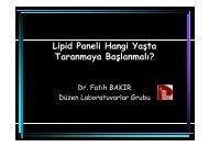 Lipid Paneli Hangi Yaşta Bakılmaya Başlanmalı? - Düzen ...