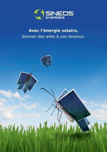 Avec l'énergie solaire, donnez des ailes à vos revenus. - Groupe CDC