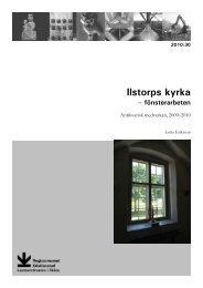 Ilstorps kyrka - Regionmuseet Kristianstad