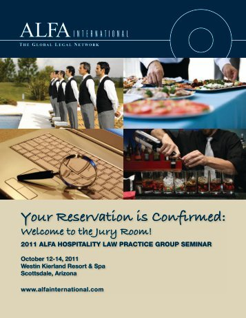 Your Reservation is Confirmed: - ALFA International