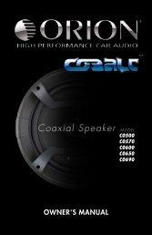 Coaxial Speaker MODEL - DirectedDealers.com