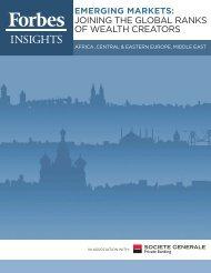 Download the survey (PDF) - Societe Generale Private Banking