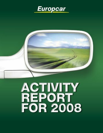 activity report for 2008 - United Nations Global Compact