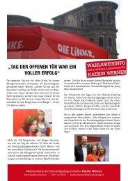 September - DIE LINKE. Katrin Werner