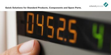 Quick Solutions for Standard Products, Components and Spare Parts.