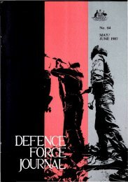 ISSUE 64 : May/Jun - 1987 - Australian Defence Force Journal