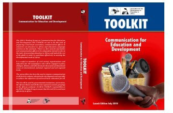 Toolkit on Communication for Education and Development - ADEA