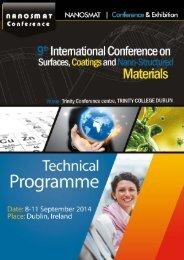NANOSMAT 2014 Programme