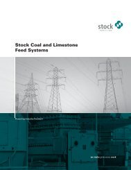 Stock Coal and Limestone Feed Systems - Schenck Process GmbH