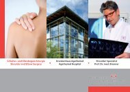 Erfahren Sie mehr über Professor Brunner - Krankenhaus Agatharied
