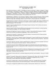 CEF Full Publication List 2006 - 2012 (last update Sept ... - CEF-MC