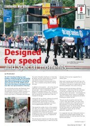 Distance Running 2012 edition 1: Designed for speed and special ...